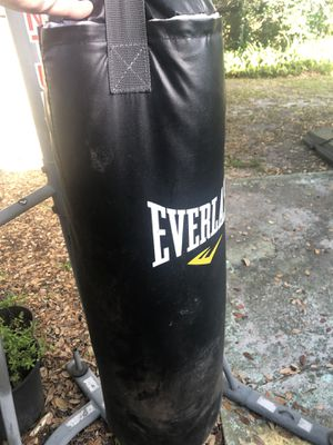 Everlast Punching Bag with Century Stand for Sale in St. Petersburg, FL