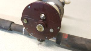 Penn 209 fishing reel with rod for Sale in Carol Stream, IL
