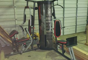 Smith machine with plates and weider pro 4950 for sale or trade for Sale in Silsbee, TX