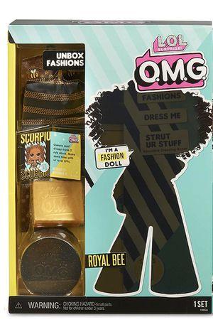 NIB LOL Surprise OMG Fashion Dolls Series 1 - Royal Bee for Sale in Riverton, UT
