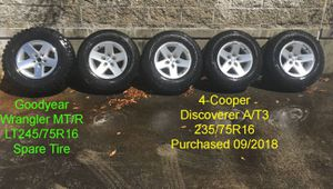 "Jeep YJ 16"" Wheels & Tires for Sale in Mukilteo, WA"