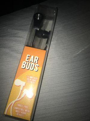 Black 3.5mm jack earbuds for Sale in Sun City, AZ