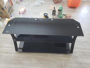 3 Shelve TV Stand (Black) for Sale in Tamarac, FL