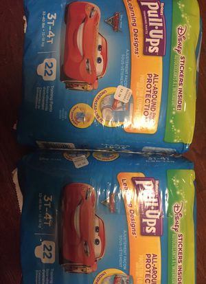 Huggies pull-ups 2 packs for Sale in Queens, NY