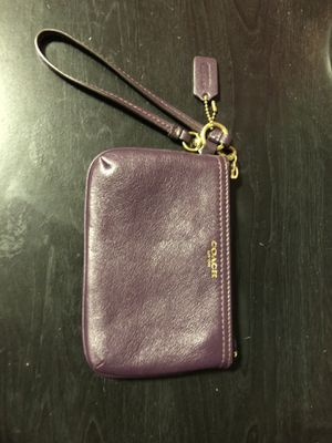 Coach mini purse/wristlet for Sale in Normal, IL