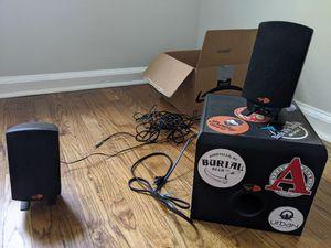 Klipsch Promedia 2.1 sound system for Sale in Atlanta, GA