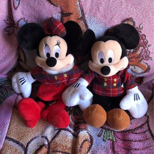 """Mickey Minnie Christmas Plush 18"""" NEW TAGS for Sale in Temecula, CA"""