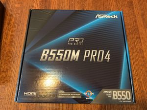 ASRock B550 PRO4 motherboard for Sale in Fresno, CA
