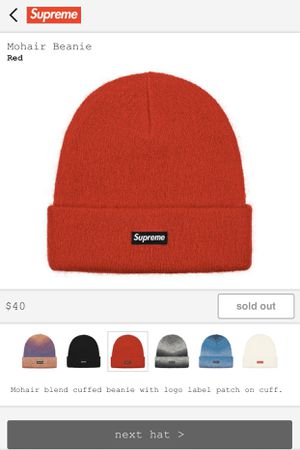 Supreme Mohair Beanie for Sale in San Antonio, TX