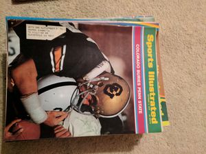 1970 sports illustrated Colorado buries Penn St for Sale in Corinth, ME