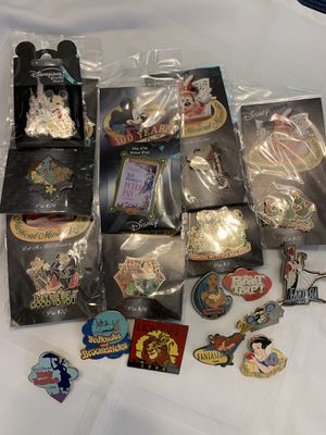 Disney collectible pins for Sale in Plano, TX