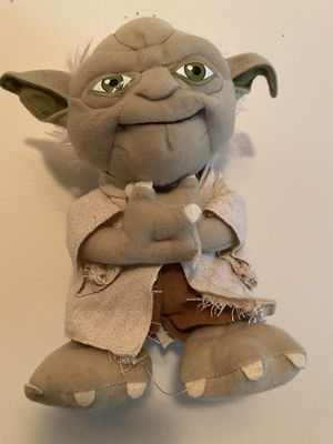 Yoda stuffed animal for Sale in Germantown, MD