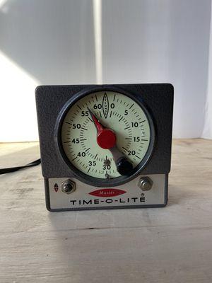 Master Time-O-Lite M-72 Darkroom Timer Photagraphy Vintage for Sale in Schaumburg, IL