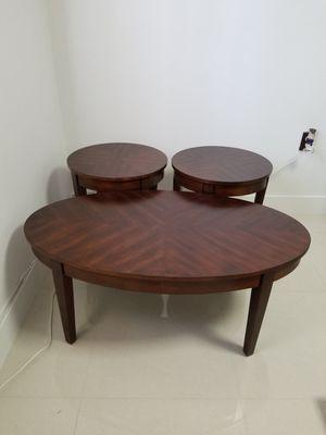 Coffe table set of 3 for Sale in Miami, FL
