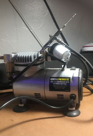 Airbrush and compressor for Sale in Riverside, CA