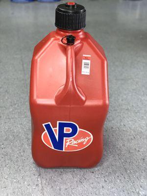 Vp racing gas jug 5gal for Sale in Las Vegas, NV