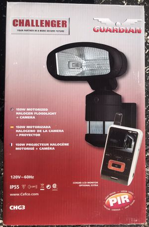 150w Motorized halogen flood light with camera for Sale in West Palm Beach, FL