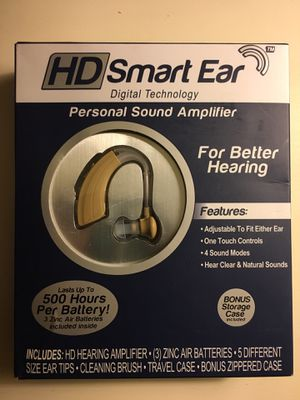 HD Smart Ear Personal Sound Amplifier. for Sale in Port St. Lucie, FL