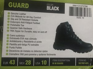 BRAND NEW SIZE (10) SLIP RESISTANT / OIL RESISTANT WORK BOOTS - $30 for Sale in Largo, FL