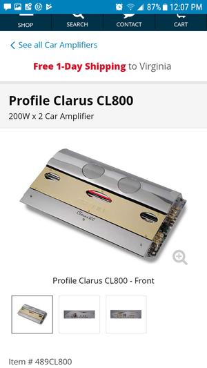 Profile clarus cl800...$100 or best offer for Sale in Harrisonburg, VA