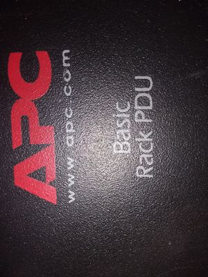 Apc rack pdu for Sale in Fort Worth, TX