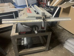 Ryobi table saw and Craftsman Radial arm saw with drill press $150 each or $250 for both. for Sale in Gastonia, NC