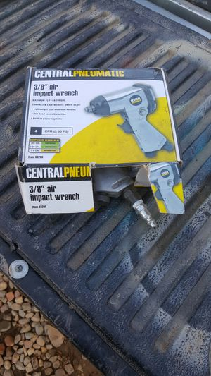 Central Penn pneumatic 3/8 air impact wrench for Sale in Tolleson, AZ