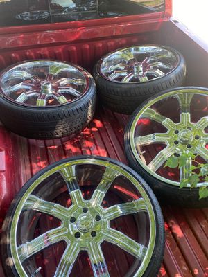 24in Rims clean all the way through $$$$ for Sale in Columbus, OH