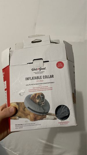 Inflatable collar for dog for Sale in Lakewood, WA