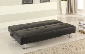 Black Click Clack Sofa Bed *BRAND NEW* for Sale in Linthicum Heights, MD