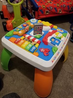 Kids stand up Toy ! Works great barley used! for Sale in Seattle, WA