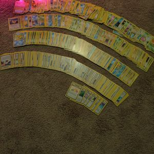 400+ 1998-Early 2000 Base Set Pokemon Cards In NM Condition for Sale in Locust Grove, GA