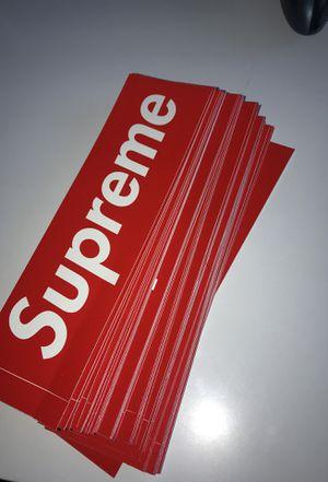 Supreme Sticker ($5 each) for Sale in Miami, FL