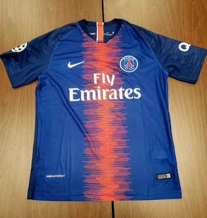 New psg home Jersey 19/20 champion league Neymar size M & L for Sale in Alexandria, VA