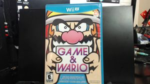 Nintendo Wii U Game & Wario Game And Wario USA for Sale in Lake Elsinore, CA