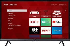 "TCL - 32"" Class - LED - 3-Series - 720p - Smart - HDTV Roku TV for Sale in Kissimmee, FL"