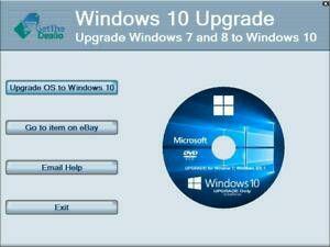 Windows 10 upgrade download for Sale in Saint James, LA