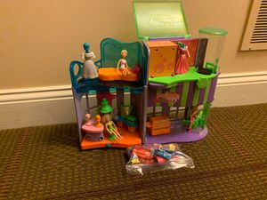 Polly Pocket Polly's Cafe & Accessories for Sale in Woodbine, MD
