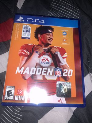 Madden 20 for Sale in Biloxi, MS