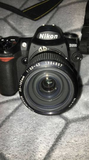 Nikon D200 with Lens & Memory Card for Sale in Norcross, GA