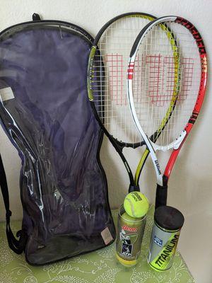 Wilson tennis racquet set for Sale in Milpitas, CA