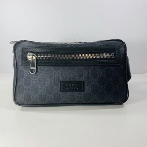 Gucci soft gg black belt bag for Sale in Richmond, TX