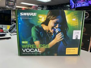 Shure sm58 on sale today message us for the lowest prices in la for Sale in Long Beach, CA