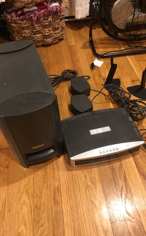 Bose 3-2-1 GS Series II A/V DVD for Sale in Boston, MA
