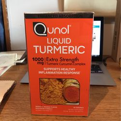 Qunol Liquid Tumeric 60 Servings for Sale in Vashon,  WA