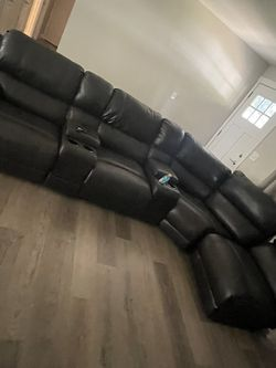 Leather Recliner Couches for Sale in Kent,  WA