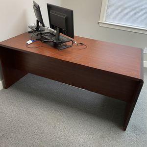 Large Wooden Desk for Sale in Marietta, GA