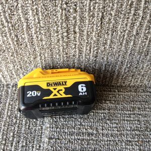 DeWalt 20 V 6.0 battery for Sale in Columbus, OH