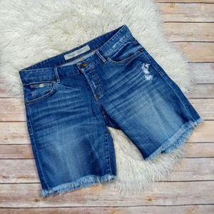 Guess | Raw Hem Button Fly Bermuda Shorts- SZ 25 for Sale in Las Vegas, NV