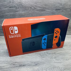 Brand New - Factory Sealed 2020 Nintendo Switch 32GB v2 Neon or Gray available for Sale in Thornton, CO